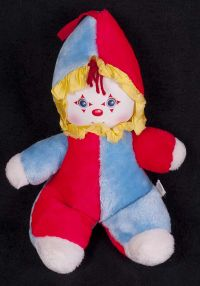 Amtoy Clown Plush Chime Lovey